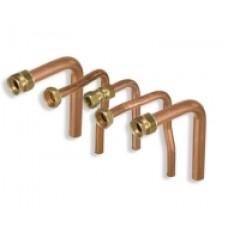 Aansluitset voor cv, gas, warm en koudwater 306243